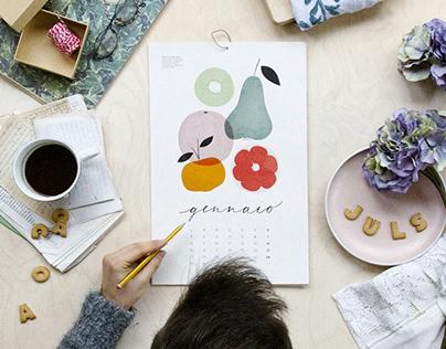 2018 Calendar / Una mela al giorno