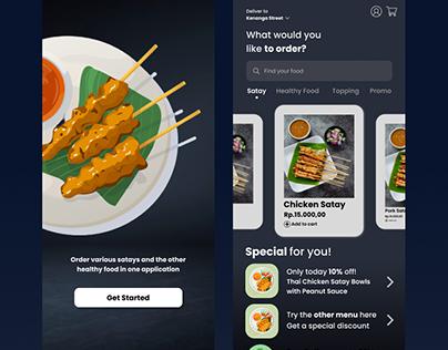 UI/UX Food App