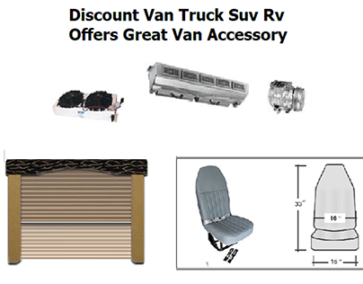 Discount Van Truck Suv Rv Offers Great Van Accessory