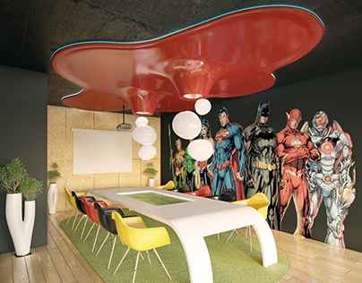 IT company Office