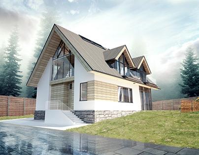 Single-family house in Zakopane II