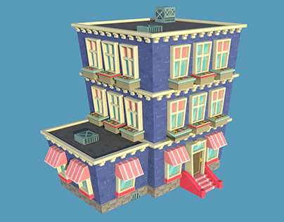 LOW POLY GAME BUILDING