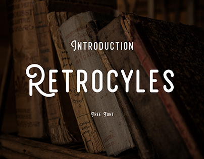 Free Font - Retrocycles