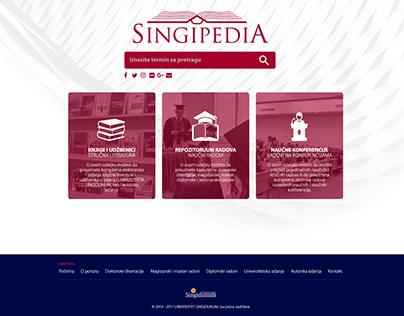 The Scientific Research Portal Singipedia