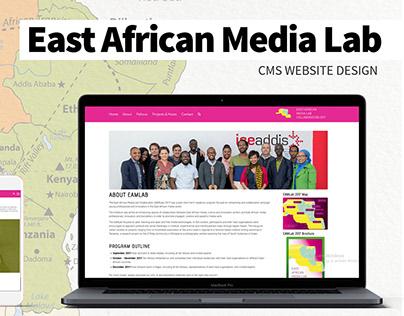 East Africa Media Lab CMS Design