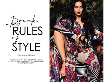 Kiara Advani for The Peacock Magazine