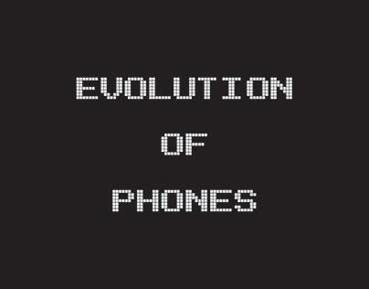 ICONS/ Evolution Of Phones