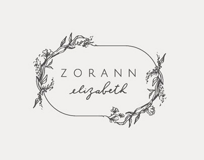 Zorann Elizabeth - Illustrated Logo Design