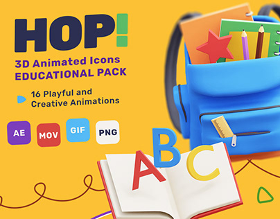 HOP! Animated Pack (School Edition)