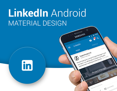 LinkedIn - Android Material Design