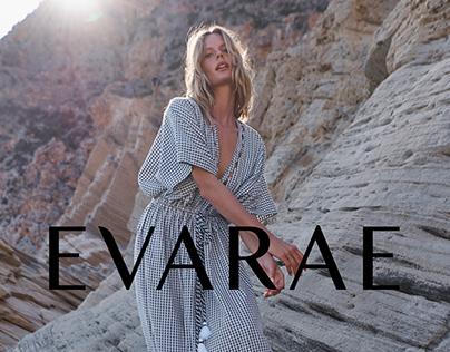 Invitation Designs for EVARAE London brand.