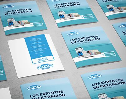 Graphic Design for Idima Cía. Ltda.