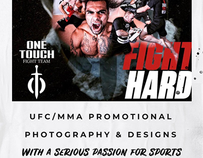 UFC/MMA Style Photography & Design