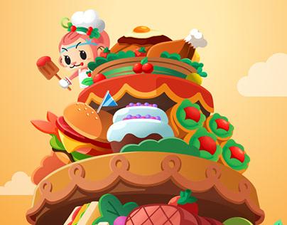 NEXON MapleStory Chuchu Food Festival