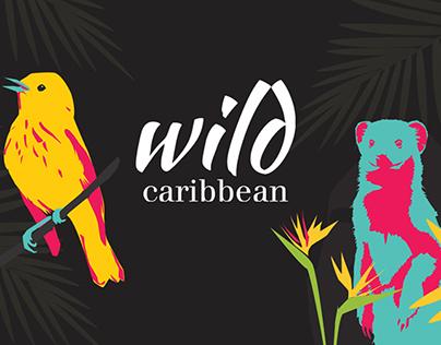 Wild Caribbean Illustrations