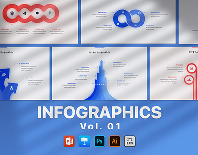 Free Infographics - Premium Animation - Vol. 01
