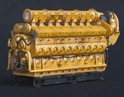 electro motive diesel engine