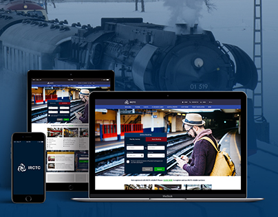IRCTC website redesign