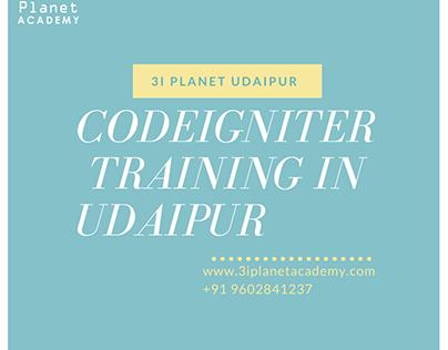 Codeigniter training in udaipur