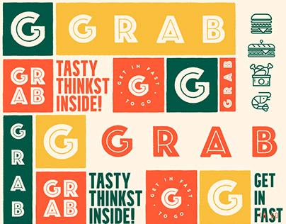 Grab Burger - Tasty Thinkst Inside!