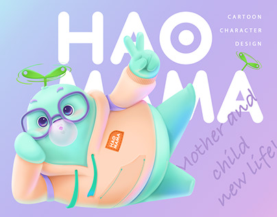 「HAOMAMA」Character Design