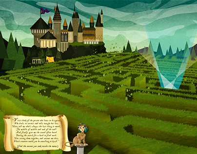 Triwizard Tournament Mazz Puzzle