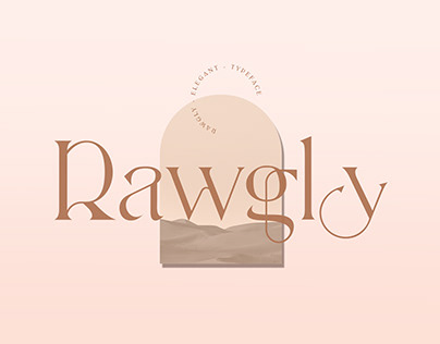 Rawgly - Free Typeface