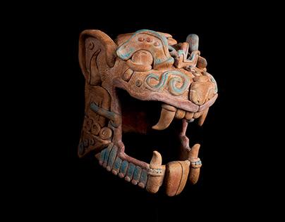 Mayan sculptures