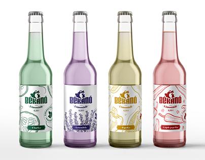 Békanő - Lemonade packaging
