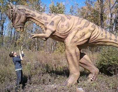 Scenic/Fabrication - Field Station Dinosaurs