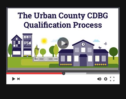 HUD: The Urban County CDBG Qualification Process Video