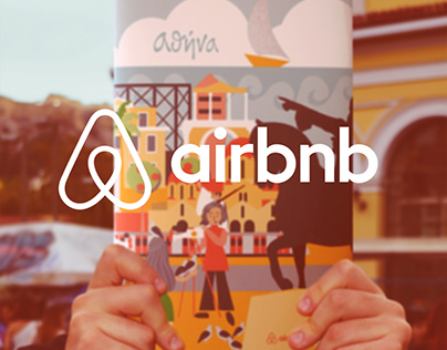 Airbnb-Athens Illustrations