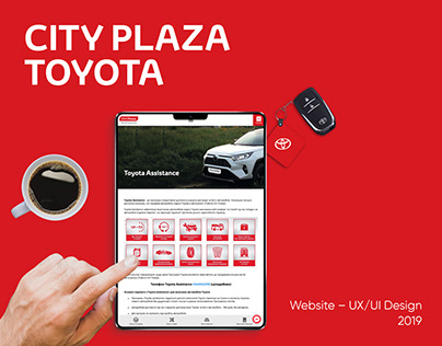 """Web site for """"City Plaza Toyota"""""""