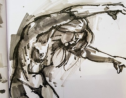 Daily Gesture Drawings and Life Studies