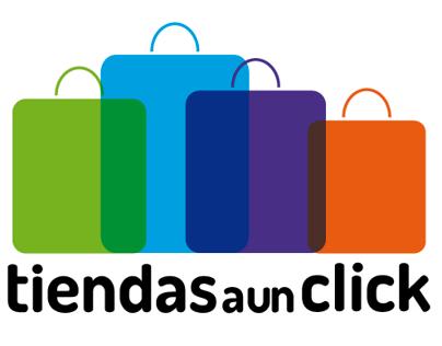 """Logotipo """"Tiendas a un click"""