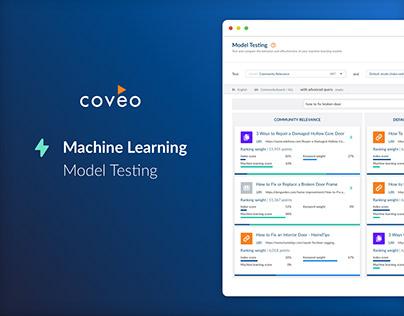 Coveo Model Testing