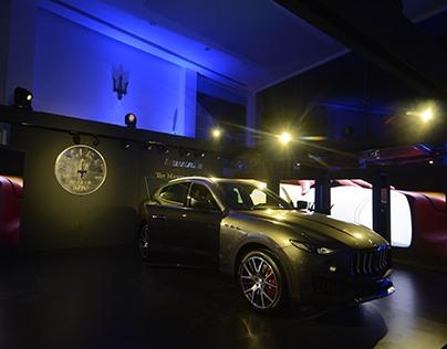 Maserati showroom & Levante launch event