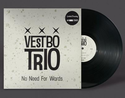 """Vestbo Trio """"No Need For Words"""" 10"""" Vinyl"""