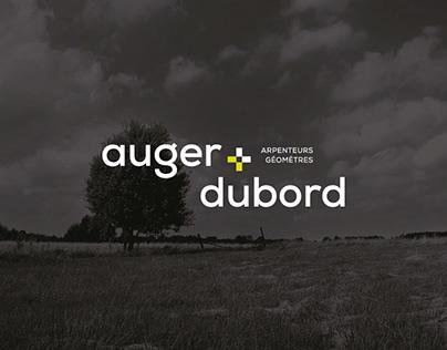 Auger+Dubord // Branding