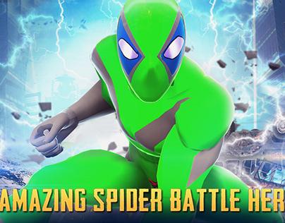 amazing spider battle hero