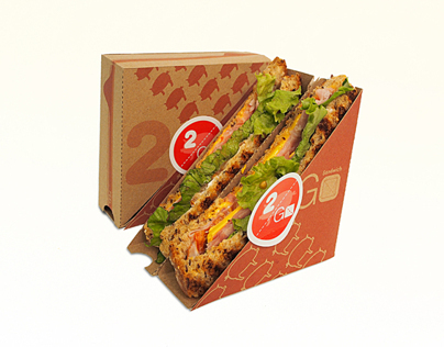 2 Go Sandwich Packaging