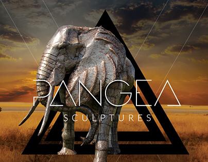 Pangea Sculptures Photograph Manipulations