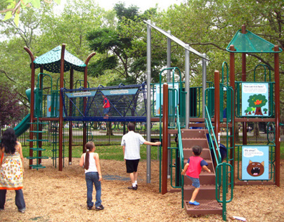 Queens Zoo Interactive Playground