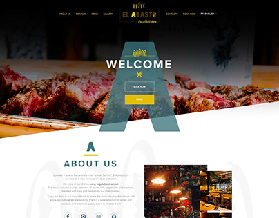El Abasto BCN | Web Design - Landing Page
