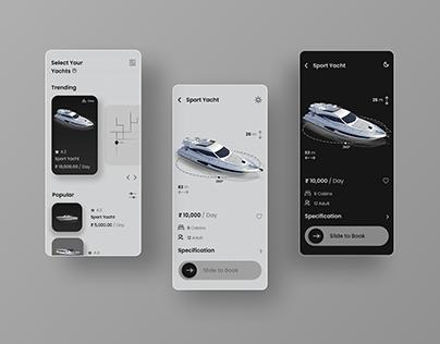 Yacht Booking UI