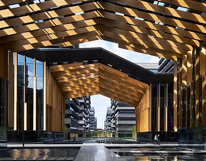 Portmix Shanghai by Kengo Kuma and Associates