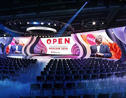 Coca-Cola O.P.E.N. Leadership conference Moscow 2019