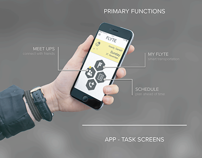 FLYTE: SCAD's Transportation App