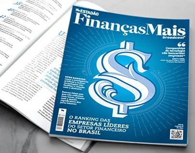 Cover and Lettering | Estadão | Finanças Mais