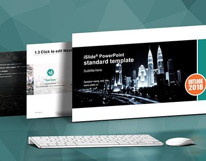 Modern Business Presentation Template - iSlide